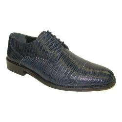 Men's Giorgio Brutini 21008 Navy Croco Print Leather