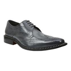 Men's Giorgio Brutini 21085 Gray Buff Croc/Light Gray Smooth Calf