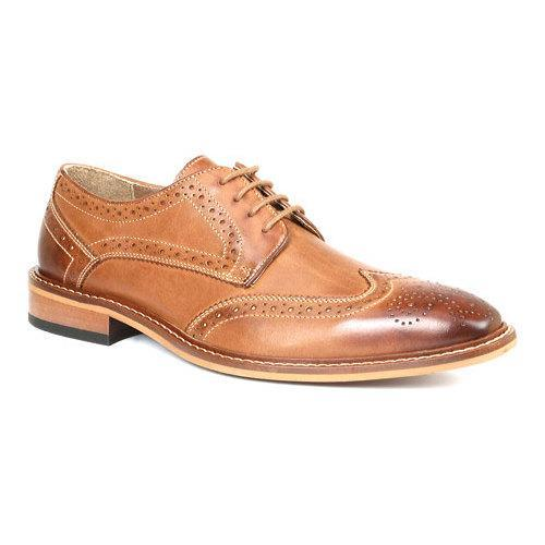 Men's Giorgio Brutini 4 Eyelet 282 Sportive Wing Tip 25069 Rust Sportive Leather