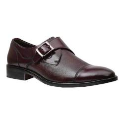 Men's Giorgio Brutini Cap Toe Monk Strap 25053 Bordo Rampton Leather