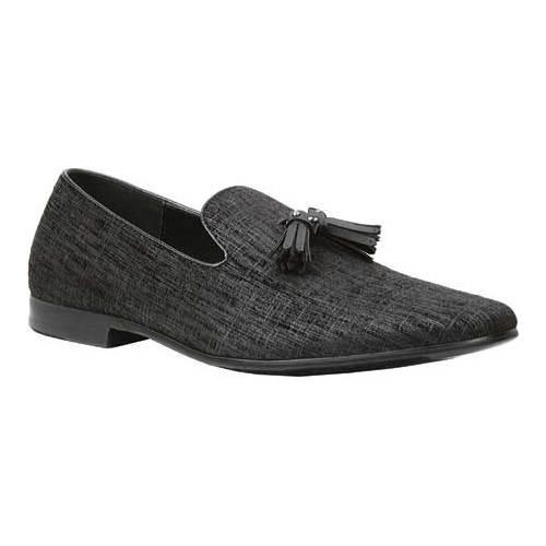 Men's Giorgio Brutini Tassel Slipper 17635 Black Velvet