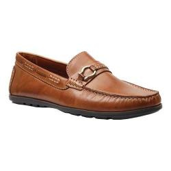 Men's Giorgio Brutini Mocc with Metal Horseshoe D-Ring Loafer 47889 Tan Vitello Leather