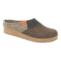 Women's Haflinger Freedom Grizzly Clog Chocoate