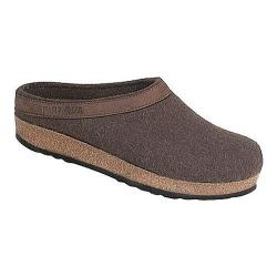Haflinger GZL Leather Trim Grizzly Smokey Brown
