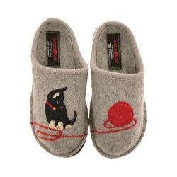 Women's Haflinger Kitty Silver Grey