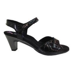 Women's Helle Comfort Eudora Sandal Black Leather