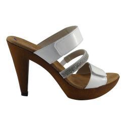 Women's Helle Comfort Natascha Sandal White Patent