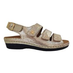 Women's Helle Comfort Taki Sandal Gold Leather