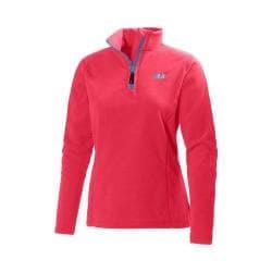 Women's Helly Hansen Daybreaker 1/2 Zip Fleece Pink Glow
