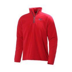 Men's Helly Hansen Daybreaker 1/2 Zip Fleece Flag Red