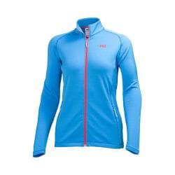 Women's Helly Hansen Vertrex Fullzip Stretch Midl Silk Blue