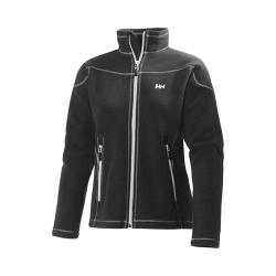 Women's Helly Hansen Zera Fleece Jacket Ebony