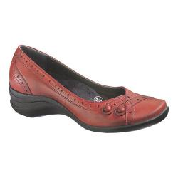 Women's Hush Puppies Burlesque Dark Red Leather