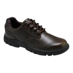 Boys' Hush Puppies Chad Oxford Brown Leather