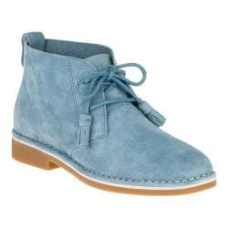 Women's Hush Puppies Cyra Catelyn Chukka Blue Suede