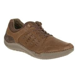 Men's Hush Puppies Hinton Method Sneaker Brown Leather