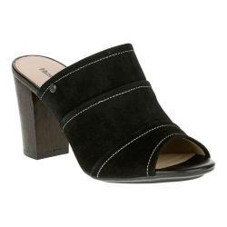 Women's Hush Puppies Mora Malia Slide Sandal Black Suede   Shopping The Best Deals on Sandals