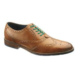 Men's Hush Puppies Style Brogue Tan Leather