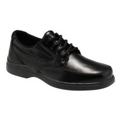 Boys' Hush Puppies Ty Oxford Black Leather