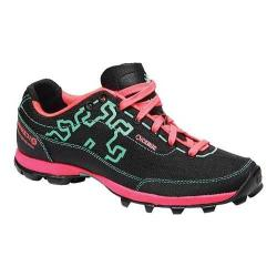 Women's Icebug Acceleritas-L OCR RB9X Trail Running Shoe Black/Turquoise
