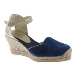 Women's Ilse Jacobsen Dahlia 67 Wedge Espadrille Navy
