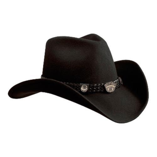 JACK DANIEL'S JD03-E Black Wool (US M (Hat 7-7 1/8, Head ...