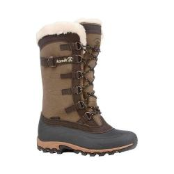 Women's Kamik Citadel Boot Dark Brown