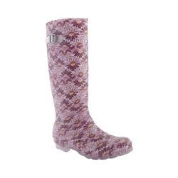 Women's Kamik Daisies Rainboot Purple/Violet