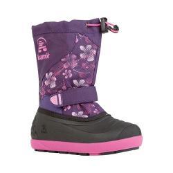Children's Kamik Skiland2 Boot Eggplant/Magenta