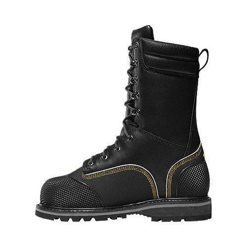 Men's LaCrosse Longwall II 10in GORE-TEX 200G MET/NMT CSA Boot Black Full Grain Leather - Thumbnail 1