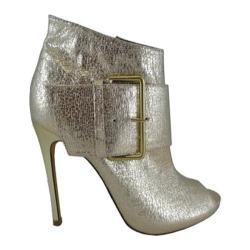 Women's Lauren Lorraine Liza Gold Metallic