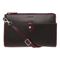 Women's Lodis Audrey Vicky Convertible Crossbody Clutch Black/Red