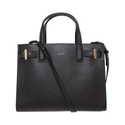 Women's Lodis Stephanie Tara Satchel with RFID Protection Black