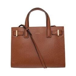 Women's Lodis Stephanie Tara Satchel with RFID Protection Chestnut