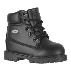 Children's Lugz Drifter 6 Black Perma Hide