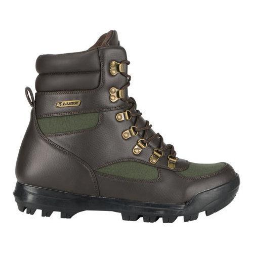 ... Men's Lugz Sloan Hi Water Resistant Boot Coffee Bean/Gator Green  ...