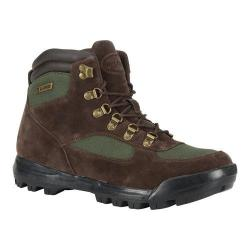 Men's Lugz Sloan Water Resistant Boot Chocolate/Gator Green/Black Thermabuck