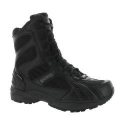 Men's Magnum M.U.S.T. 8.0 Side Zip Waterproof Boot Black Leather/Waterproof Synthetic
