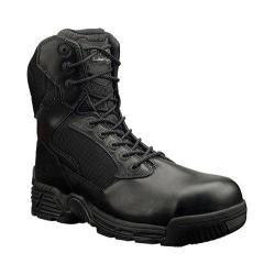 Men's Magnum Stealth Force 8.0 SZ Composite Toe WPI Black Full Grain Leather/Nylon