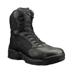 Men's Magnum Stealth Force 8.0 SZ WPI Black Full Grain Leather/Nylon
