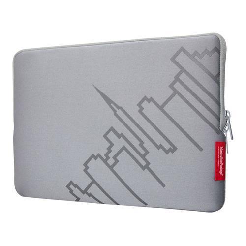 Manhattan Portage Macbook Air Skyline Sleeve 13in Silver ...