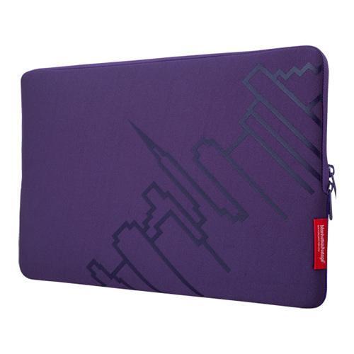 Manhattan Portage Macbook Pro Skyline Sleeve 15in Purple ...
