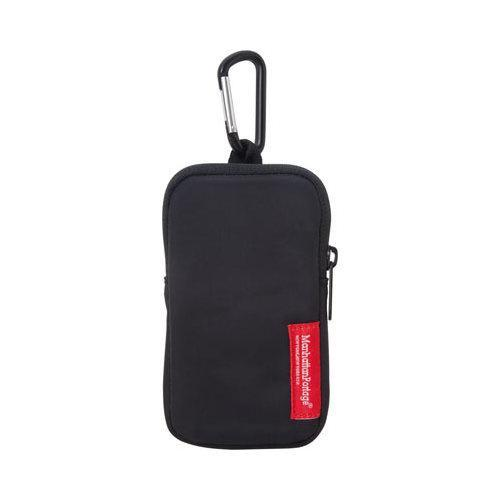 Manhattan Portage Nylon Cell Phone Case (Medium) w/ Carabinier Black