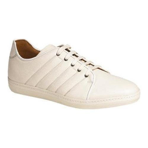 Men S Mezlan Balboa Ii Sneaker White Rich Soft Calfskin