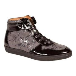 Men's Mezlan Andorra High Top Black/Grey Calf