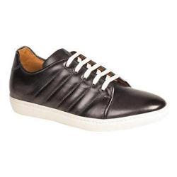Men's Mezlan Balboa II Sneaker Graphite Rich Soft Calfskin