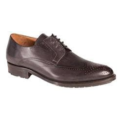 Men's Mezlan Bilbao Oxford Graphite Calf