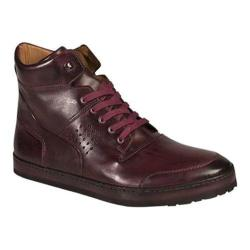 Men's Mezlan Bolzano High Top Burgundy Calf