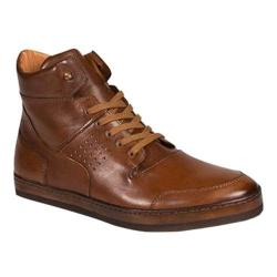Men's Mezlan Bolzano High Top Cognac Calf