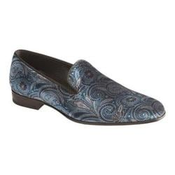 Men's Mezlan Cole Slip-on Blue Printed Velvet